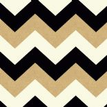 Glitterati Chevron Black/Gold Wallpaper 892300 By Arthouse For Options